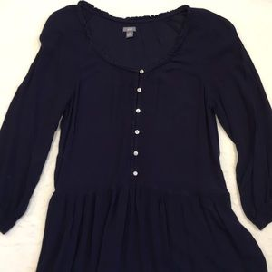 🐰Aerie women's navy tunic dress, small